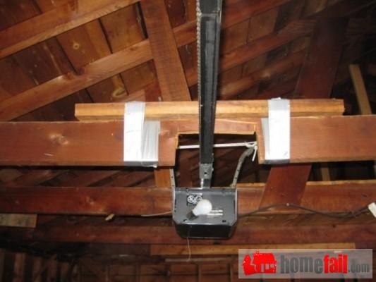 how to fix a crooked garage door video