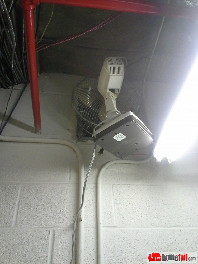 how to change exhaust fan