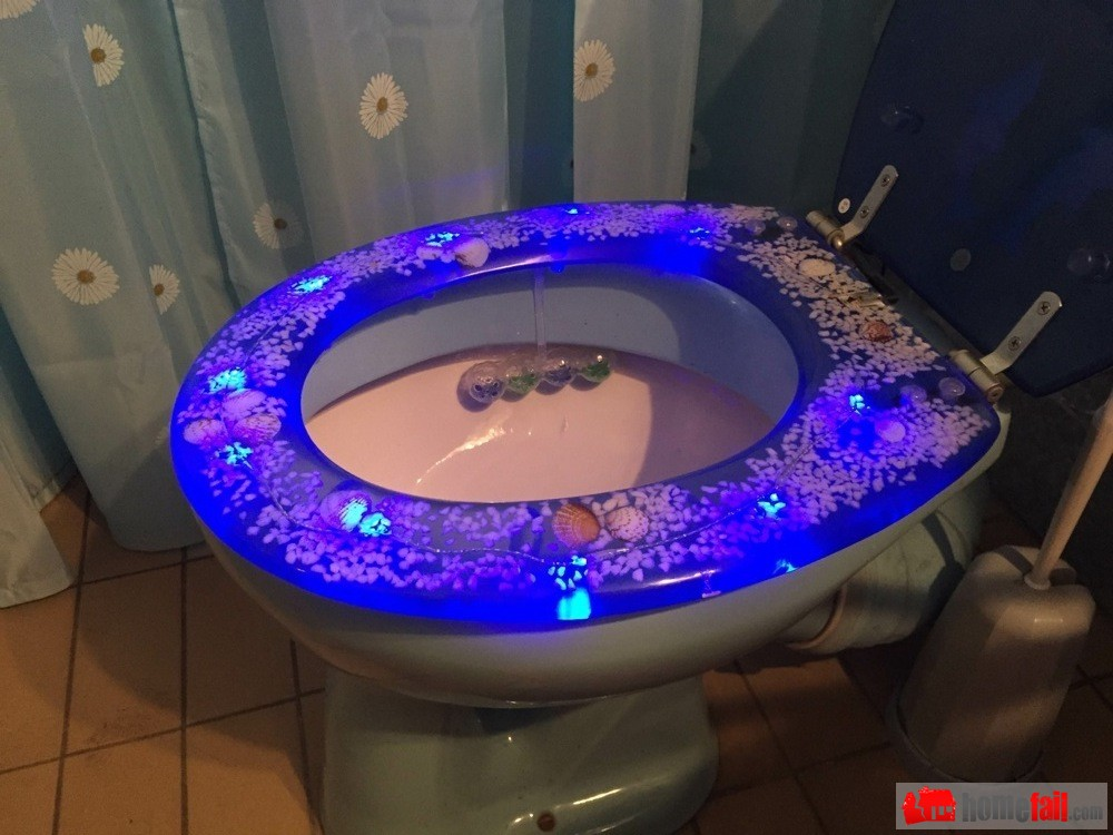 why yes my themed toilet seat is battery operated homefail