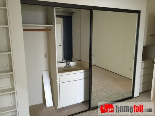 sink-in-closet
